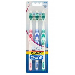ORAL B SPAZZ.CLASSIC.MEDIUM CARE X3PZ