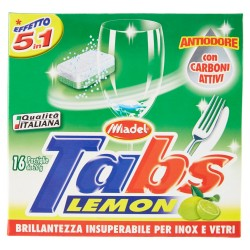 MADEL TABS LIMONE 5 IN 1 16PZX20GR
