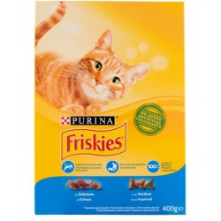FRISKIES CAT SALMON/VER GR.400 C.637