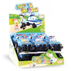 TOYS CANDY JEEP LO SBIRRO CON CARAMELLE