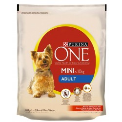 ONE MINI DOG ADULT MANZ/RISO 800gr C.12322833