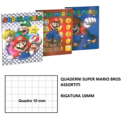 MAXI QUADERNI SUPERMARIO RIG.10 MM C8513
