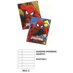 MAXI QUADERNI SPIDERMAN RIG.C C4042C