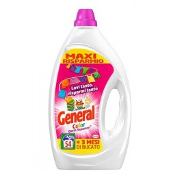 GENERAL LAV. LIQUIDO 54 LAV. COLOR 2.7 L