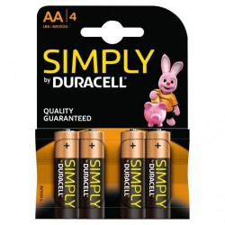 DURACELL SIMPLY AA X4